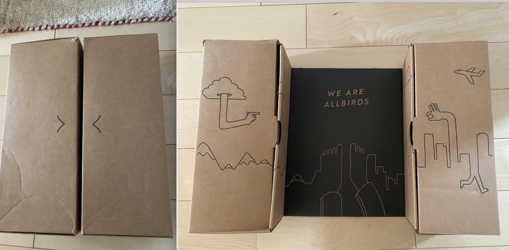 オールバーズ 可愛い箱