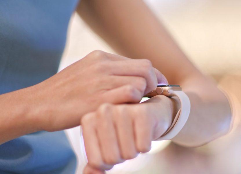 心拍数をApple Watchで表示させるには?
