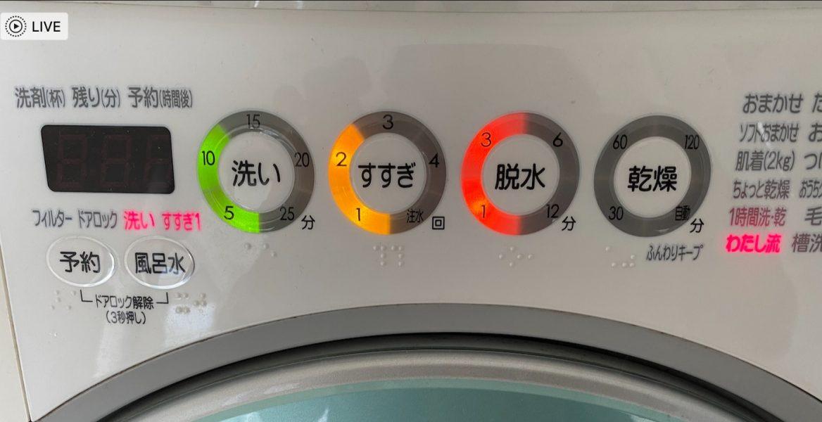 洗濯モード
